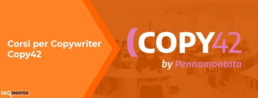 corsi copywriter copy42