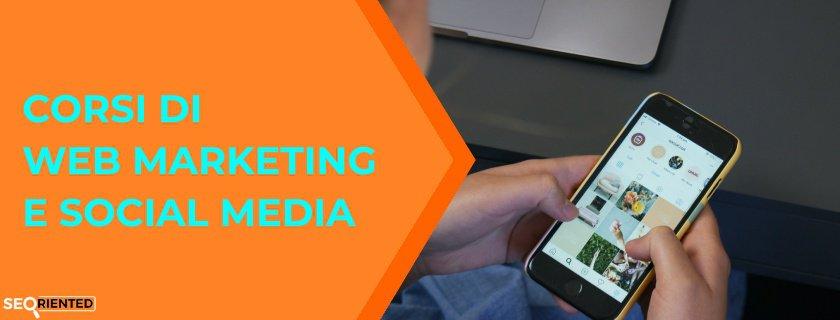 corso web marketing e social media