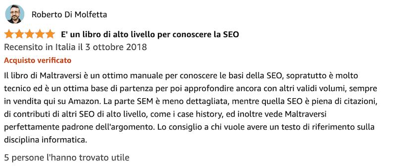 SEO e SEM guida avanzata al web marketing opinioni
