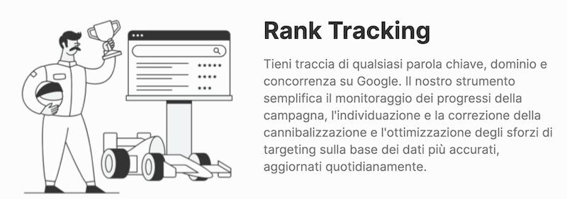 rank tracking semrush