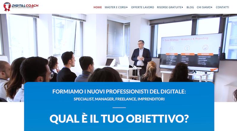 piattaforma corsi digital coach
