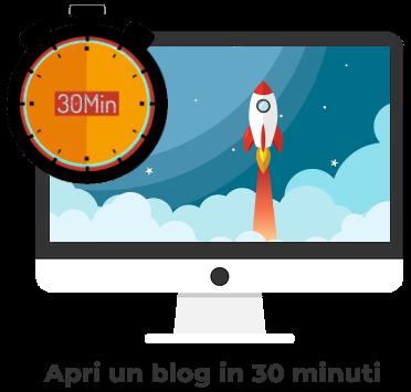 aprire un blog in 30 minuti