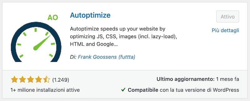 autoptimize plugin wordpress