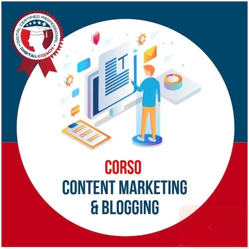 corso content marketing blogging