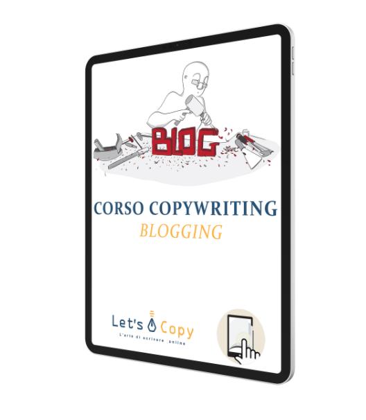 let's blogging corso online