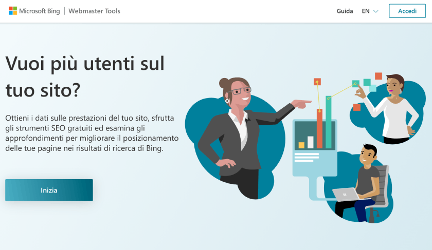 Bing Webmaster Tools seo