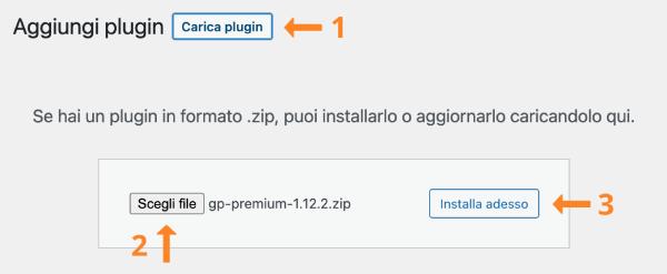 installazione gp premium
